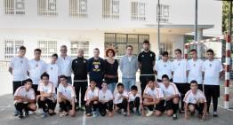 Las 'Escoles Cor Blanquinegre' de la Fundación VCF echan a rodar
