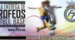 La Entrega de Premios al Fútbol Base de Valencia, en la Fonteta