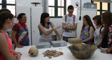 Visitas al Laboratorio de restauración del Museu de Prehistòria de València