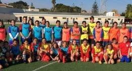 Festivo de trabajo en la Selección Femenina Sub-12