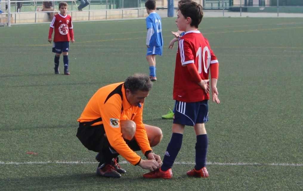 El arbitraje en el fútbol base