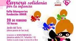 I Carrera Solidaria Fundación Anar-Falla Blanquerías, el 20 de febrero