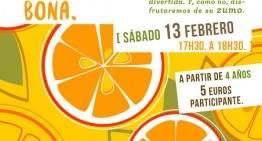 Taller para hacer zumo de naranjas en Ubik Café