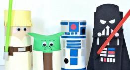 Construye tus propias marionetas de Star Wars y haz teatro con ellas