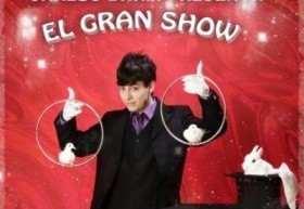 Chistes y magia en un mismo espectáculo