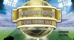 Alicante celebra el viernes 11 la Gala de Entrega de Premios al Fútbol y Fútbol Sala Base