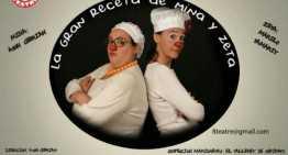 """Pasátelo de risa con """"La gran receta de Miña y Zeta"""" en La Beneficiencia"""