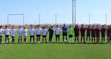VÍDEO: Así saltan los jugadores al terreno de juego en el I Torneo Esportbase & MTS CUP