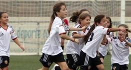 Ainhoa Alguacil reina entre los goleadores del D1 Benjamín