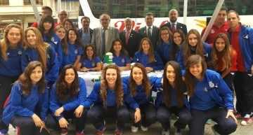 La FFCV combinó deporte y solidaridad en la jornada de cuestación de la AECC Valencia