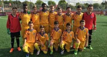Campeonato de España: la Selección Valenciana Alevín se atasca en cuartos de final