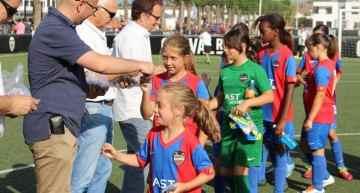 Copa de Campeones de Copa Fútbol-8 Femenino el próximo 4 de junio en Aldaia