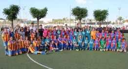Calendarios y grupos de competición de fútbol-8 Femenino FFCV 2016-2017