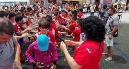 El I Torneo Fútbol-8 CF Malvarrosa debuta con gran éxito