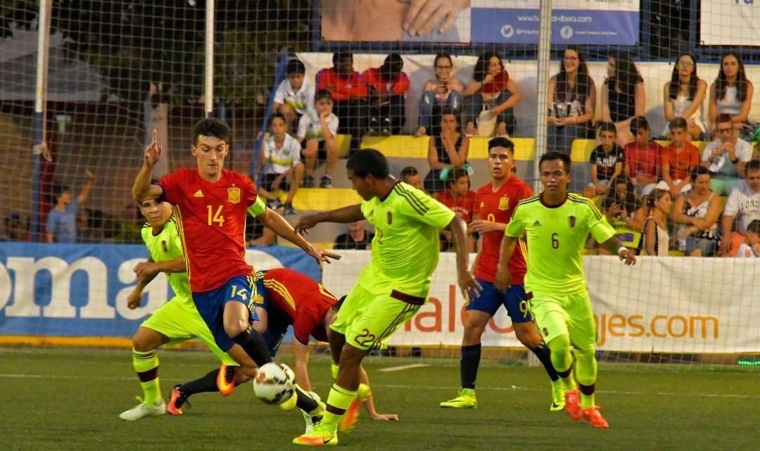La Selección Española SUB-20 se clasifica para semifinales del COTIF