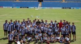 Clausura del IX Campus de Verano del Hércules de Alicante CF