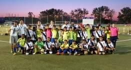 Gran detalle solidario del CD Malilla con la Selección Sáhara del COTIF