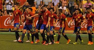 España jugará la final del COTIF SUB-20 ante Argentina tras vencer 2-0 a Qatar