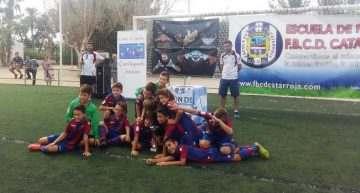 Los benjamines del Levante UD dominan en el III Torneo FBCD Catarroja Festes de San Miguel 2016