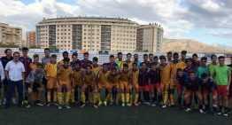 El Elda Industrial exigió al máximo a las selecciones Sub-16 y Sub-18 de la FFCV