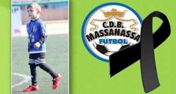 El CDB Massanassa está de luto tras el fallecimiento del pequeño Diego Campos