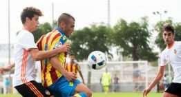 El Levante salva un punto en el derbi Juvenil ante el Valencia CF