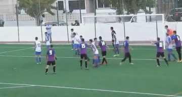 VIDEO Liga Autonómica Cadete: Resumen del CF Ciudad de Benidorm – UD Alzira (4-1)