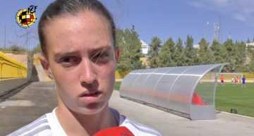 VÍDEO: Eva Navarro no se resigna y buscará el tercer puesto con la Selección femenina sub-17
