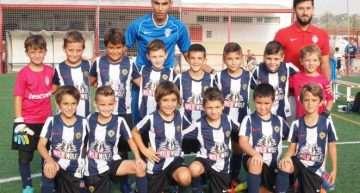 El Hércules se proclamó ganador del II Torneo Fundación Benidorm en categoría Prebenjamín