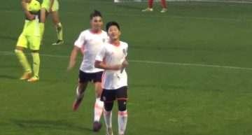 VÍDEO: Kangin Lee deja una 'perla' en el triunfo del Valencia CF Cadete 'A' ante el Elche (4-1)