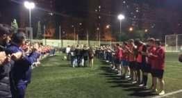 Masivo apoyo del fútbol valenciano al CD Rumbo y a los familiares de Juanma Gómez