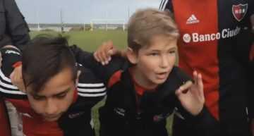 VIDEO: Impresionante arenga del capitán de Newell's Infantil para vencer a Rosario Central