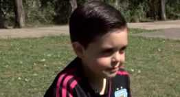 """VÍDEO: El niño que no quería ser portero y su estrellato mundial: """"Algunos porteros también lloran"""""""