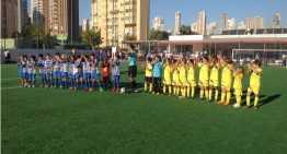 El CD Colegio El Valle pilla carrerilla y gana al Ciudad de Benidorm (1-3)