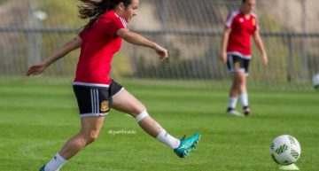 """Lucía Gómez: """"Todas soñamos con participar en un Mundial"""""""