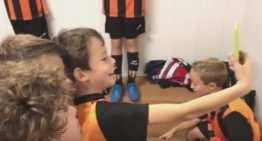 Las escuelas de fútbol base de la Comunitat se apuntan a la fiebre del 'Mannequin Challenge'