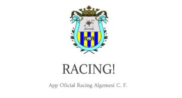 El Racing Algemesí innova y crea su propia 'App' para padres y jugadores