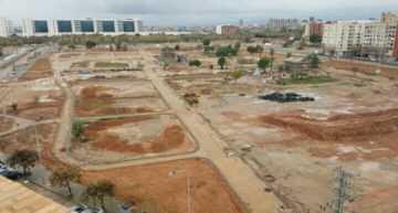 GALERÍA: El CD Malilla anuncia oficialmente el aspecto del que será su nuevo campo de fútbol-11