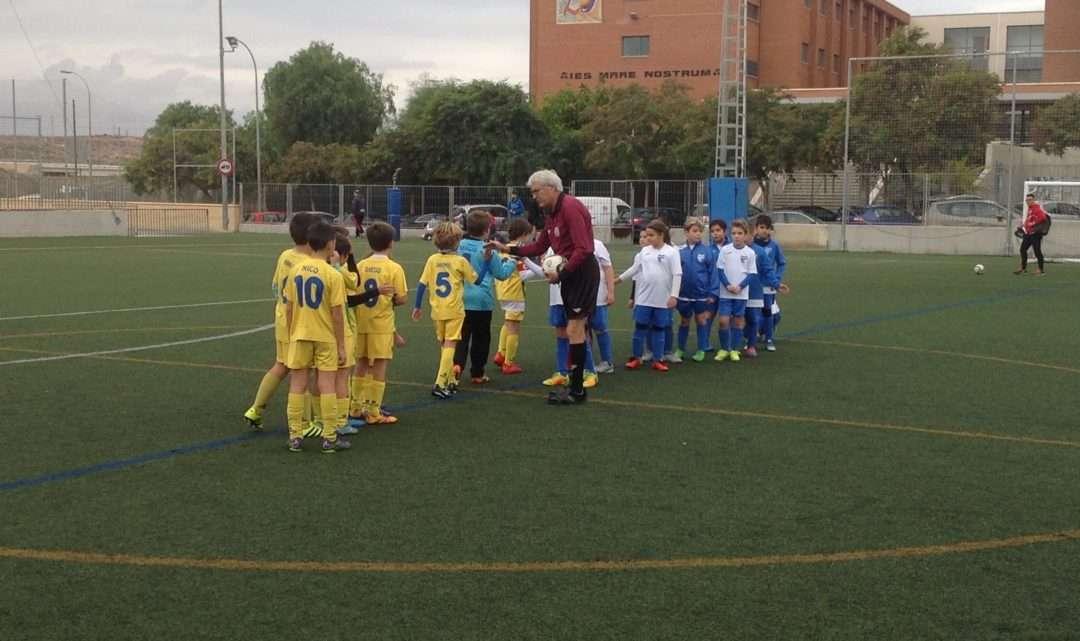 El Club Deportivo Colegio El Valle vence en casa del C.F. Bº San Gabriel de Alicante
