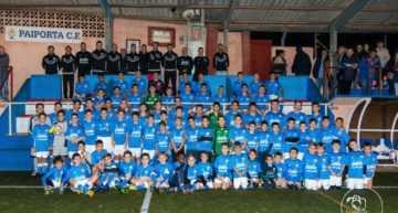 El Paiporta CF respira fútbol en El Palleter en su presentación 2016-2017