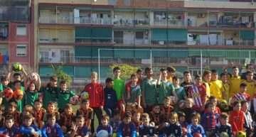 Más de 150 niños/as participan en el Memorial Paco Polit