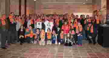 Navidades valencianistas en Sagunto: la exposición 'Doblet Històric 2003-2004' estará hasta el 20 de enero