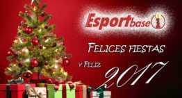 ESPORTBASE os desea felices fiestas y un 2017 repleto de… ¡fútbol!