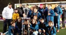 El Levante conquista tres torneos de una tacada en categorías Alevín y Prebenjamín