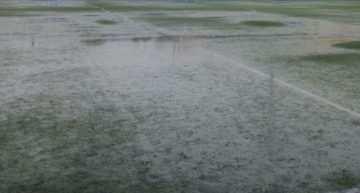 La fuerte lluvia obligó a aplazar la séptima jornada Alevín de la VII Copa Federación