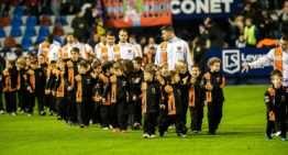 El Patacona dio suerte al Levante tras ser protagonista en el descanso de su choque ante el Tenerife