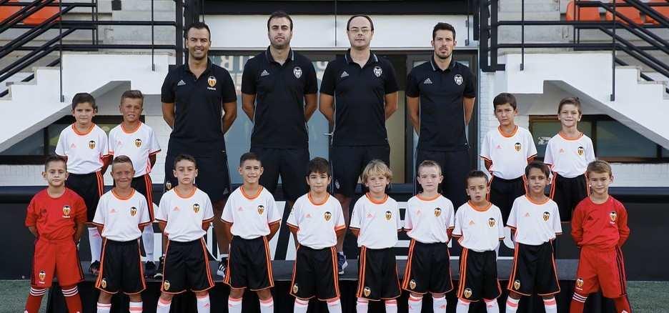 Valencia, Villarreal y Fundación no conocen la derrota en el Grupo 1 prebenjamín