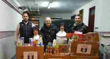 Éxito absoluto en la VII Campaña de Alimentos del CF San José