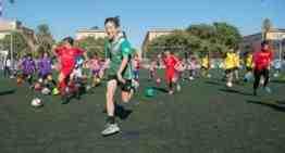 GALERÍA: 160 niños procedentes de veintiuna escuelas de fútbol completaron el 'Reto Esportbase'