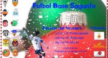 Varios equipos del Burriana FB han participado en el torneo de Sagunto